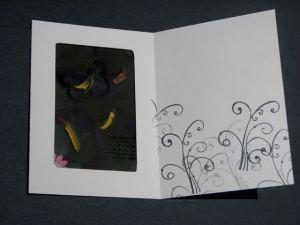 Inside the butterfly window card