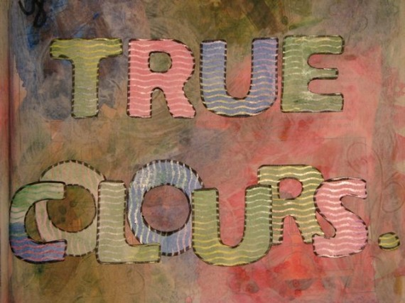 true colours close up