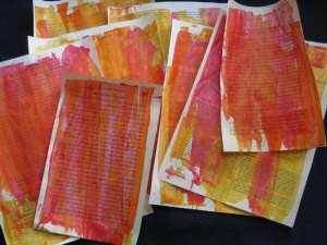 mixed media painted backgrounds