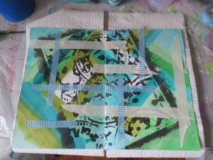 Mixed Media Art journal by Michelle Brown